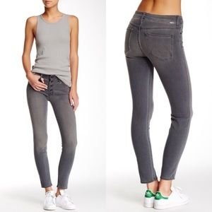 Mother Denim Pixie Graphite Finders Keepers Jeans
